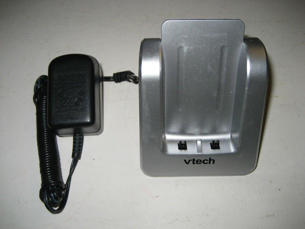 Vtech LS6125 remote base w/PSU - DECT CORDLESS PHONE v tech charging ac dc VAC
