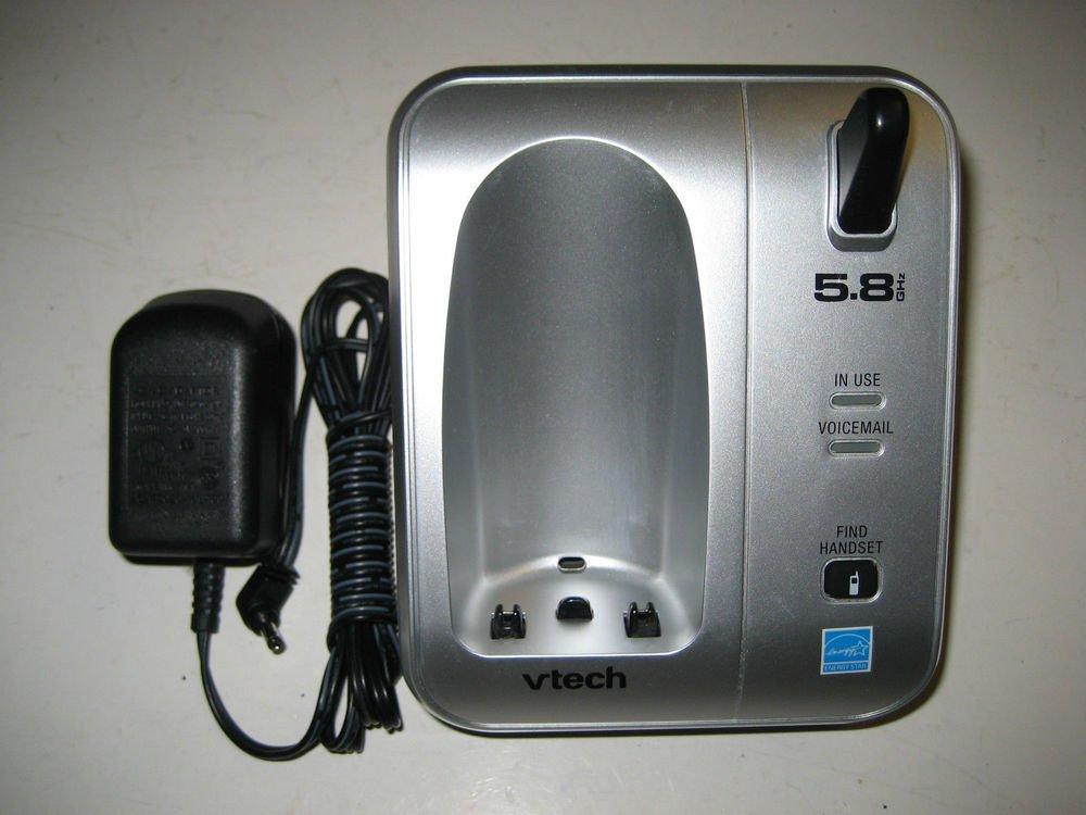Vtech CS5111 main charge base w/PSU - CORDLESS PHONE v tech charging ac dc VAC