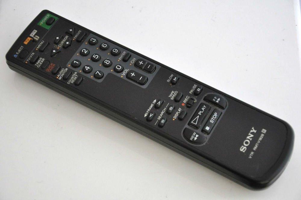 Sony RMT V182B remote control - VTR TV SLV 390 SLV 660 HF HHF SLV 690 HF VCR