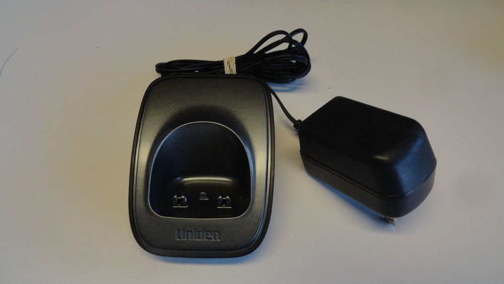 Uniden DCX16 b remote charger base w/PSU - D1660 D1680 D1688 D1760 D1780 phone
