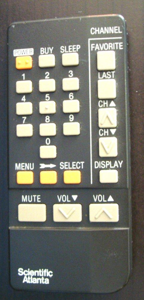 original genuine Scientific Atlanta remote control 8650 E0 controller cable box