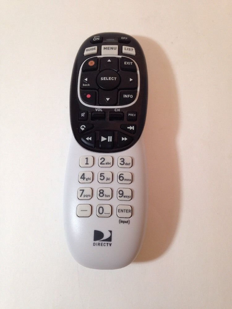 Remote Control DirecTV URC3004CBC0 0 R C131603 receiver direct tv rc71 guide