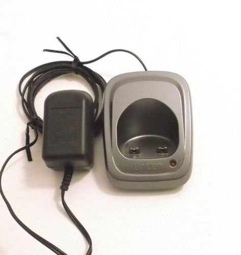 gray Uniden DCX150 remote charger base w/PSU DECT 1580 1560 handset remote phone