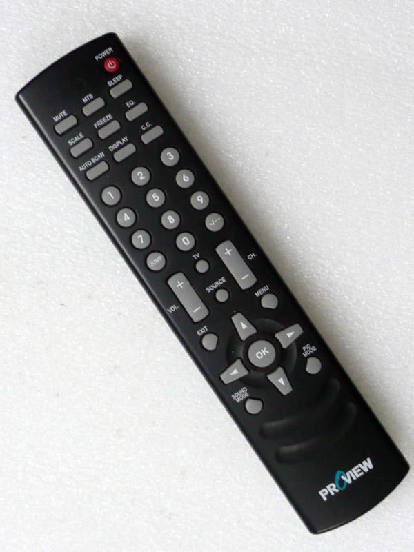 ProView REMOTE CONTROL model 0503758 - LCD TV HDTV wireless infrared controller