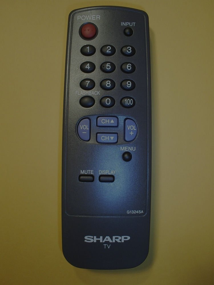 SHARP G1324SA Remote Control - TV 13JM100 13JM150 36RS60 36US50 36US50B 36US60B