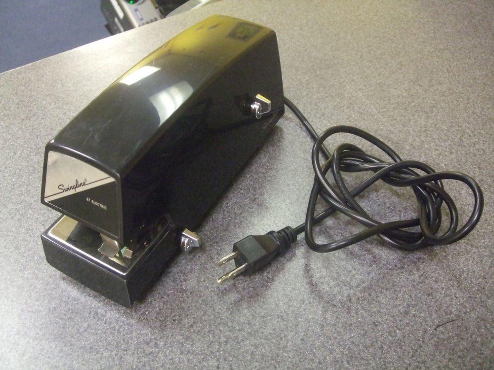 Swingline model 67 Commercial Electric STAPLER staple gun office school 20+sheet