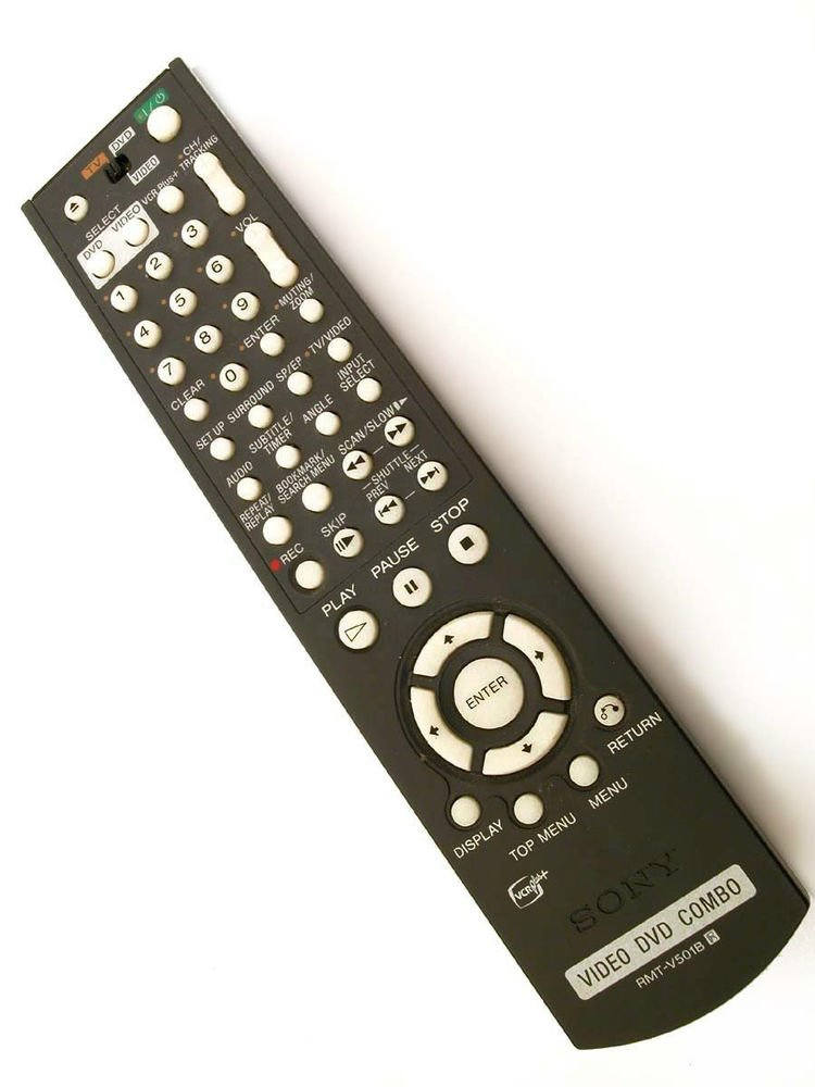 SONY RMT V501B REMOTE CONTROL - DVD TV VCR SLV D500 D500P controller wireless