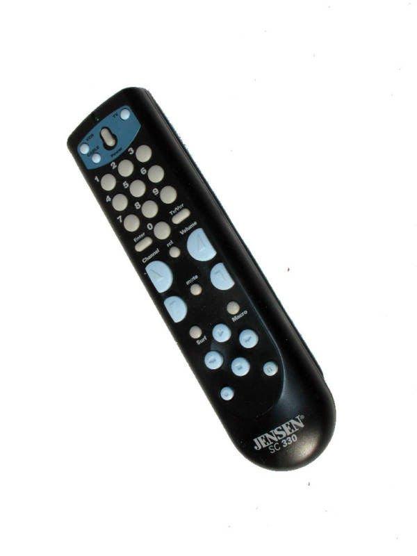 REMOTE CONTROL - JENSEN SC 330 cable TV VCR surf series mute satellite recall