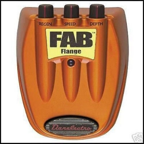 DANO Danelectro FAB FLANGE - guitar switch effects pedal chorus foot distortion
