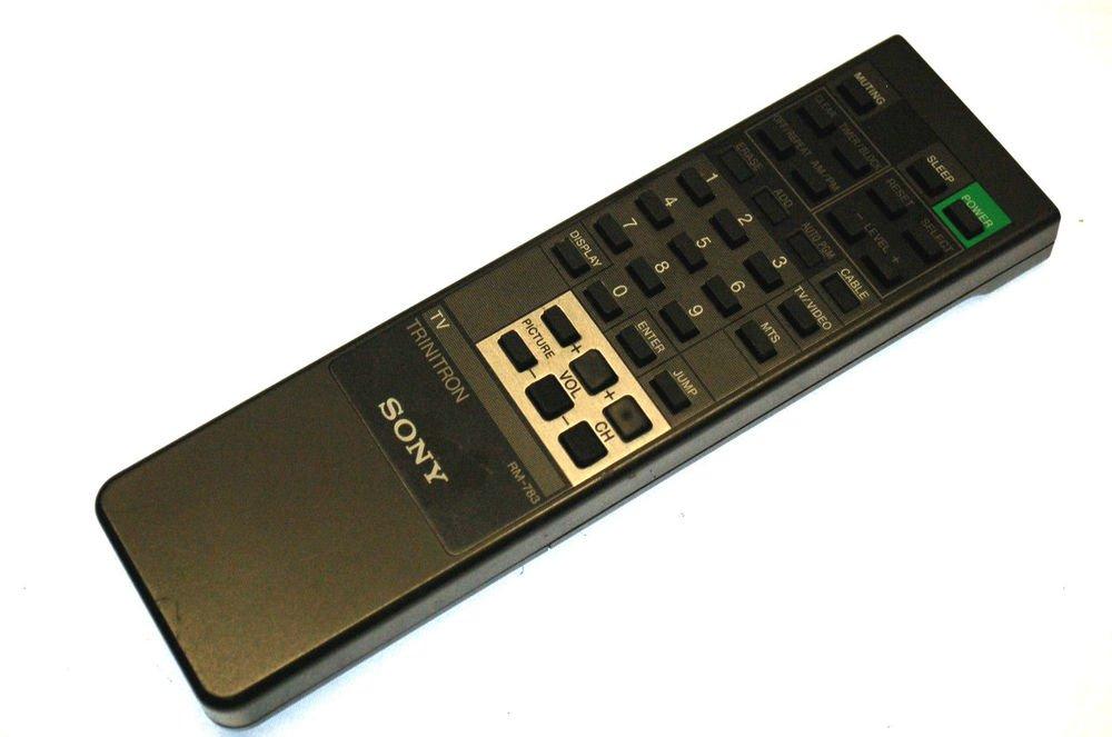 Sony RM 783 A1470921A Remote Control TV KV2094 KV2094R KV20TR21 KV27TR22 KV2765