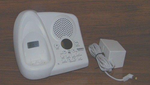 Uniden EXAi978 main charger base w/PSU - 900MHz cradle cordless phone charging