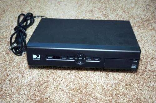 Model D12 500 DirecTv Receiver w/ac power cord Satellite cable box Direct TV DTV