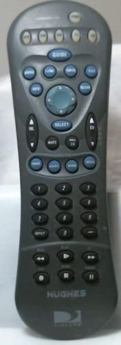HUGHES HRMC 8 REMOTE CONTROL - DirecTV DVD VCR VHS TV satellite cable box