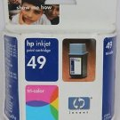 49 tri COLOR ink jet HP DeskJet 682c 692c 693c 695c 697c printer 51649A
