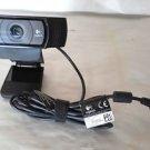 Logitech HD Webcam 1080p USB Carl Zeiss Tessar Lens Optics PC Laptop computer