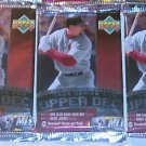 3 new 1999 UPPER DECK series 2 baseball PACKs sealed UD ser. one