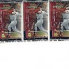 3 new baseball PACKs - 1999 UPPER DECK MVP game used jersey souvenirs autographs