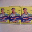 3 new baseball PACKs - 2000 FLEER TRADITION HOBBY fresh ink auto memorabilia