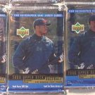 3 new baseball PACKs - 1999 UPPER DECK  - sealed