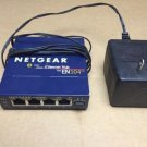 Netgear Hub EN104 TP 10 MBPS 4port uplink button ethernet internet switch base-T