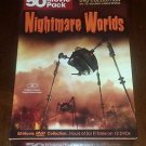 Nightmare Worlds - 50 Movies DVD 12 disc boxed - MANSTER COUNTERBLAST THEY PANIC
