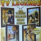NBC WESTERN TV LEGENDS - 4hrs on DVD - The VIRGINIAN,LARAMIE,WAGON TRAIN,LAREDO