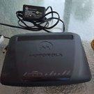 Motorola model 2247 N8 PC MAC DSL modem USB ethernet internet wireless WPS