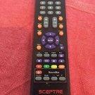 SCEPTRE X50 5BV FMQR REMOTE CONTROL ler LED TV FMDR X409BV X405BV FHDR soundbar
