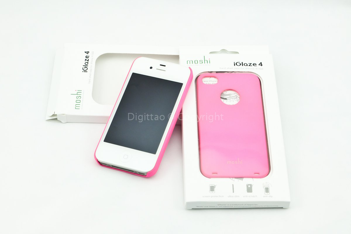 iPhone 4 cases Moshi (HOT PINK)