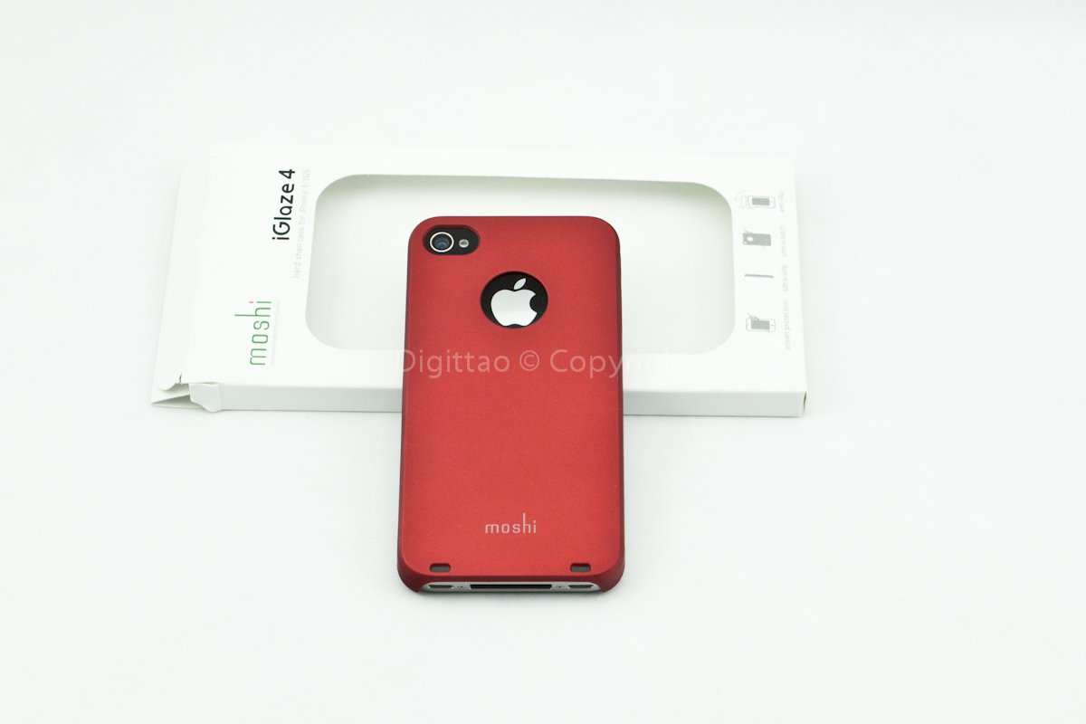 iPhone4 cases Moshi (DARK RED)