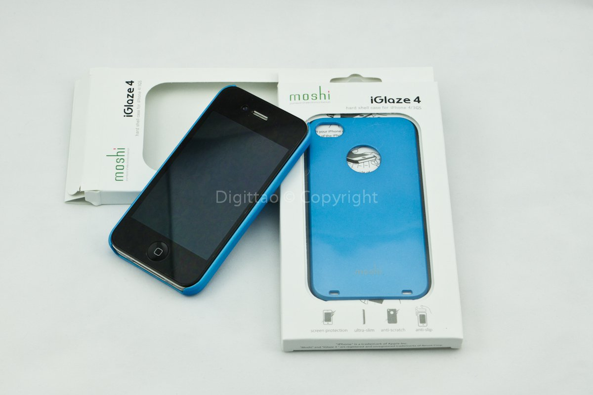 iPhone4 cases Moshi (SKY BLUE)