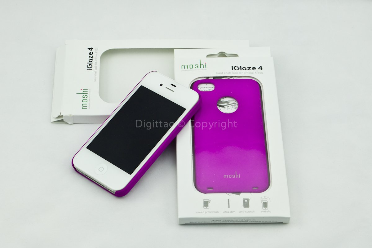 iPhone4 cases Moshi (Fuchsia)