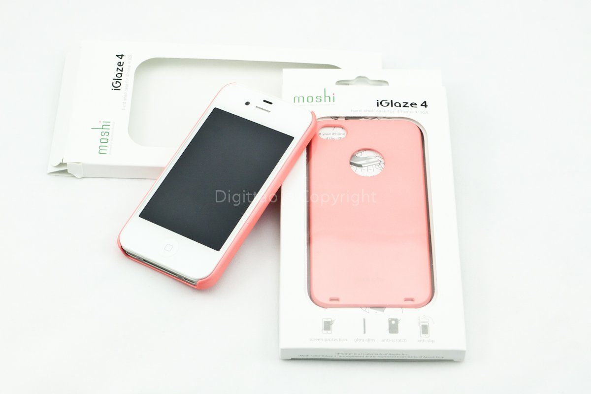iPhone4 cases Moshi (PINK)