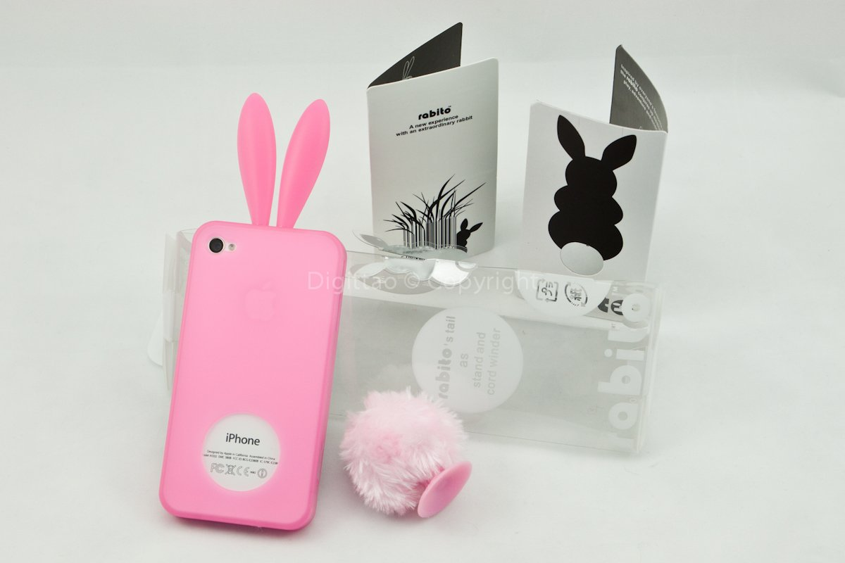 iPhone4 cases Rabito (PINK)
