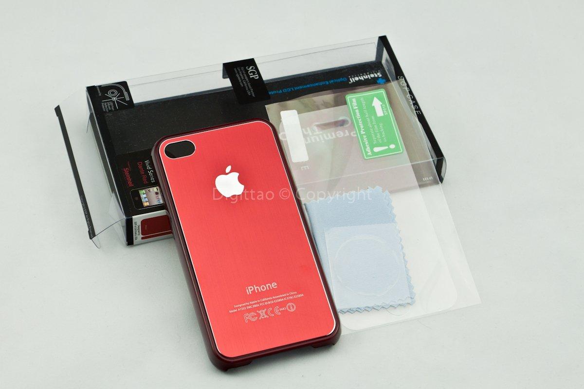 iPhone4 case SGP (RED)