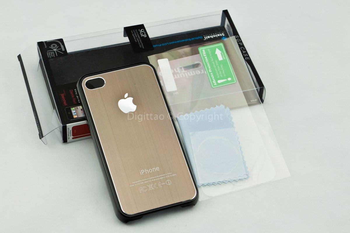 iPhone4 case SGP (BROWN)