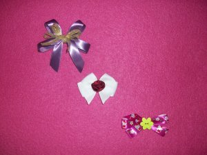 Small Bows For Girls