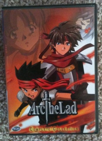 Arc the Lad I II III Collection DVD Anime Box Set based on Working Designs RPG game for PSX PS1