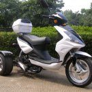 50cc Trike Moped