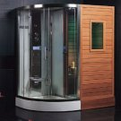 Dry Sauna Steam Shower