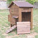 Treated Fir Chicken Coop