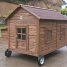 Mobile Chicken Coop House