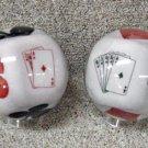 Clear Poker Bowling Ball 13, 14, 15 Lbs