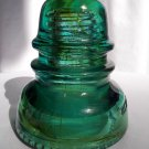 VINTAGE TELEGRAPH TRANSMISSION GLASS INSULATOR HEMINGRAY 40