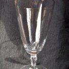 Vintage Fostoria Engagement-Platinum Crystal Water Goblet