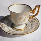 "H & CO. SELB, BAVARIA, GERMANY ""Heinrich"" FINE BONE CHINA DEMITASSE CUP AND SAUCER"