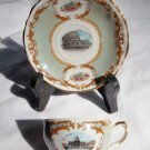 Vintage ROME, ITALY SOUVENIR DEMITASSE CUP AND SAUCER
