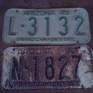 1950 ARIZONA KICENSE PLATE