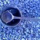 MINERS SMELTING POT WITH LADLE