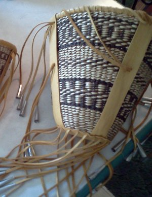AUTHENTIC APACHE BURDEN BASKET